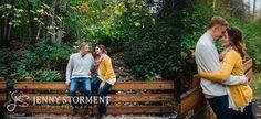 Fall engagement photos at Rattlesnake Lake engagement photos by Jenny Storment Photography-8
