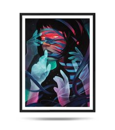 Speechless, Portrait, Glow, Girl, Fine Art Print, Matte, digital illustration Digital Illustration, Digital Art, Fine Art Prints, Glow, My Arts, Portrait, Cards, Painting, Etsy
