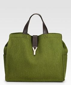 c5e60d592c25e YSL Plush Felt Shopper. Saint Laurent ToteShopping TotesLeather ...