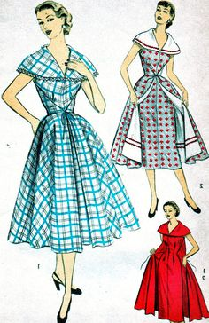 UNCUT Vintage 1950's Advance Pattern 6144 FABULOUS by anne8865