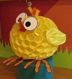 Civciv Easter Activities, Spring Activities, Easter Crafts For Kids, Craft Activities, Cup Crafts, Book Crafts, Diy And Crafts, Paper Crafts, Diy Spring