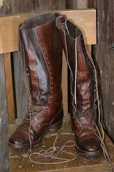 Truly vintage boots