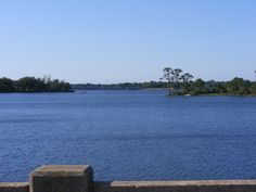 The bayou at Navy Point where I launch my boat.