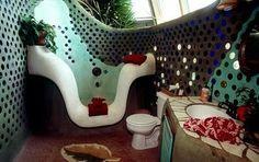 One of my favorite Earthship bathrooms...
