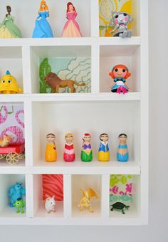 Little Trinket Shelf | Young House Love. Make one similar for above the toilet (toilet paper, shampoos, washcloths, etc.