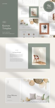 Wren Keynote Template - Keynote - Ideas of Keynote - This simple and elegant Wren Keynote template can be used to quickly create polished elegant decks and PDFs for your clients or collaborators. Design Portfolio Layout, Page Layout Design, Portfolio Book, Design Portfolios, Keynote Design, Branding Design, Design Resume, Identity Branding, Visual Identity