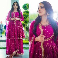Indian Wedding Dress Full Flair Sharara Kurtis For Women Bollywood Wedding, Indian Bollywood, Pakistani Girl, Pakistani Bridal, Indian Bridal, Patiala, Salwar Kameez, Salwar Suits, Sharara Suit