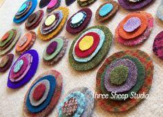 A Simple Way To Cut Wool Pennies...