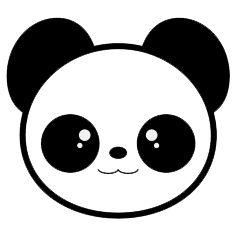 Dessin De Panda Facile A Reproduire