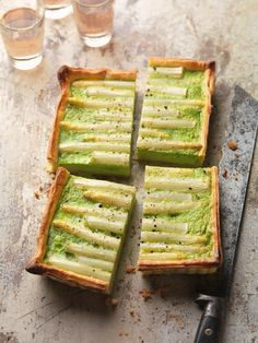 Healthy Dinner Recipes, Low Carb Recipes, Quiche, Savory Pastry, Party Finger Foods, Breakfast Snacks, Asparagus Recipe, Food N, Eat Smarter