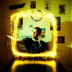 Lomography Film of the Day - Fuji Provia Exposure Lights, Saturated Color, 35mm Film, Light Painting, Sparklers, Fuji, Amazing Photography, Concert, Cameras