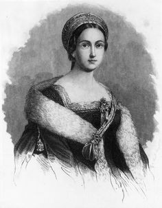Drawing of Anne Boleyn  #AnneBoleyn #HenryVIII #Tudors