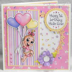 Digi-re-doo-dah: Baby Girl's First Birthday