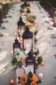purple orange and green tablescape | splendid actually 365 project