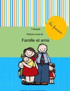 $3 Grades Kg-Grade 3 Looking for a fun interactive way to teach family and friends vocabulary in French? This 20-page package features vocabulary cards dealing with friends and family. It also has worksheets which include matching pictures with facts about family and friends, conversational French, cards with various people, relationships and family situations. #french #friends #family #worksheets #conversationalfrench #frenchvocabulary #vocabulary #relationships Learning Resources, Teacher Resources, Teacher Pay Teachers, Classroom Resources, Vocabulary Worksheets, Vocabulary Cards, Creative Teaching, Teaching Ideas, 3rd Grade Classroom