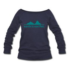 earth is not flat. Pullover   Spreadshirt   ID: 18260286