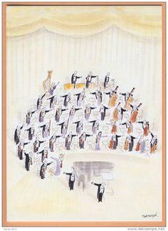 Sempé et l'orchestre