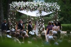 Outdoor Wedding Chuppah Inspiration W/ Anthony Vazquez Photography