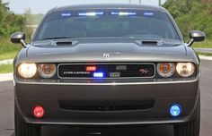 Light Bars in the Windows and Front Grille - How To Spot an Unmarked Cop Car | Complex