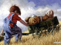 Boy and his Bears