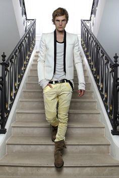 Anthon Wellsjo / Balmain Homme S/S 2012
