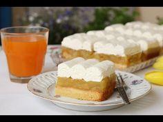 Recept na tento koláč som si doniesla z dovolenky, lepší nepoznám: Balkánsky jablkový koláč - robím aj namiesto torty! Vitamix Recipes, Apple Recipes, Sweet Recipes, Cake Recipes, Cooking Recipes, Food Cakes, Other Recipes, Vanilla Cake, Cravings