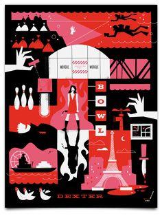 Dexter Season 2 Minimalist Poster