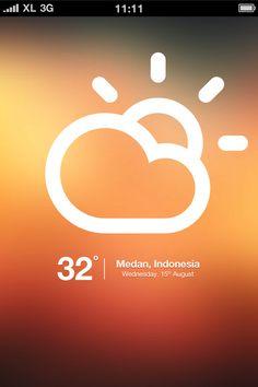 iClimate - Web App by Fariz Maulana, via Behance