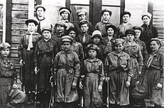 Female Red Guards of the Finnish Civil War - The Pyhtää Women's Guard, which fought the Germans in the Kyminlinna Fort