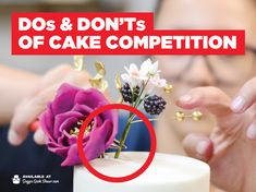 Competing in your first cake competition can be scary but with a few tips from our expert head judge and professional competitor Susan Trianos, you're sure to find success!