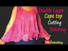 New sewing patterns shirt dress tank tops 39 ideas Crop Top Designs, Blouse Designs, Diy Clothes Tops, Kalamkari Dresses, Stitching Dresses, Top Stitching, Pola Lengan, Tandoori Masala, Kids Frocks Design