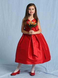 Red Formal Dresses for Girls