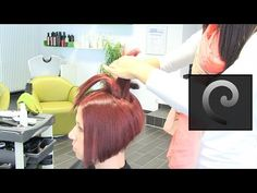 short bob haircut hairstyle 2016 with undercut and extreme shaved nape  buzzcut by alisha heide - YouTube