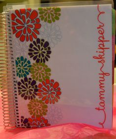 I don't know how to keep track of my life without a plan. It doesn't mean the planning has to be boring though… @erin condren