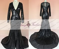 Long Sleeve Evening Gown 312069230895
