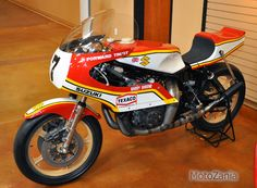 But we decided the honor goes to this 1976 Suzuki RG500 that Barry Sheene rode to claim the World Championship Grand Prix title. To this day, it is still ranks as the fastest GP bike with a record of 217.37 kph average at the Belgian Grand Prix in 1976.
