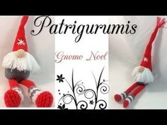 Amigurumi Gnomo Noel - gnome - YouTube
