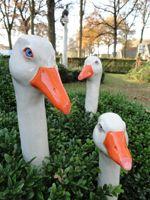 klik voor een grotere afbeelding Clay Birds, Ceramic Birds, Ceramic Animals, Clay Animals, Ceramic Clay, Ceramic Pottery, Pottery Art, Duck Crafts, Chicken Crafts