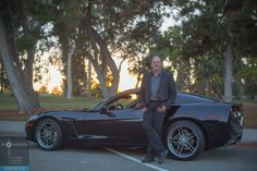 Charlie looking smooth next to his #Corvette! #Fremont #BayArea #California #headshot #FocusPhotoCo www.FocusPhoto.Co