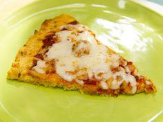 Cauliflower Pizza Crust recipe from Katie Lee via Food Network