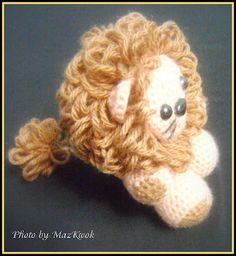 Be A Crafter xD: Free Amigurumi pattern: The Little Lion