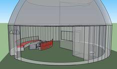 Plans, croquis, 3ds et projets - Superadobe France Small House Kits, Kit Homes, Plans, Deco, Outdoor Gear, Backyard, Fire, Blue Prints, Sketch