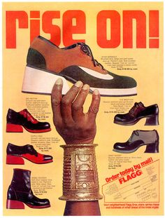 1972 Flagg Brothers Ad