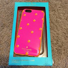 kate spade iPhone 6 Case! Brand new super cute!!! Lowest I will go on this item!!! kate spade Accessories Phone Cases