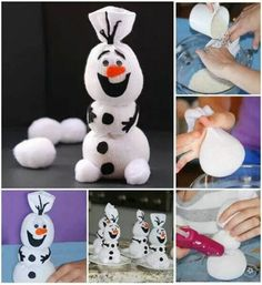 Olaf is a popular and cute Disney character among kids. If you have a Olaf fan in your house, this Olaf snowman tutorial is for you. Making sock crafts for kids Kids Crafts, Sock Crafts, Christmas Crafts For Kids, Christmas Projects, Holiday Crafts, Christmas Diy, Christmas Decorations, Christmas Cards, Toddler Crafts