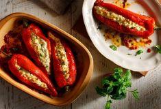 Μεζεδάκια - Μεζέδες Συνταγές | Argiro.gr Greek Meze, Food Categories, Mediterranean Recipes, Greek Recipes, Hot Dog Buns, Feta, French Toast, Clean Eating, Bread