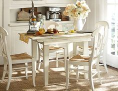 Kitchen Furniture & Kitchen Ideas Room 5 | Pottery Barn - Need a rug under the kitchen table