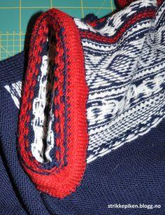Strikkepiken – Montering av kofte med enkle stolper og i sydde armer Crochet, Accessories, Fashion, Moda, Fashion Styles, Knit Crochet, Crocheting, Fashion Illustrations, Fashion Models