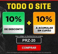 Promoções - descontos 10% + 10% Só Hoje - http://parapoupar.com/promocoes-descontos-10-10-so-hoje/