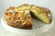 Torta di mele con grano saraceno (senza grassi)